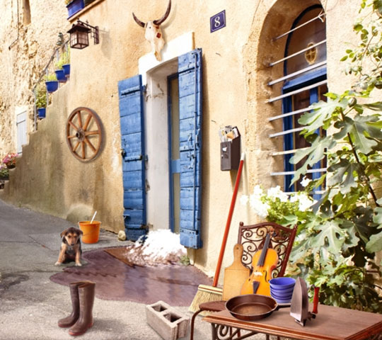 You never know what you will find in Murder in Provence