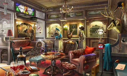 The Gentlemen's Club in Criminal Case