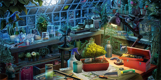 The Greenhouse in Journals of the Unknown