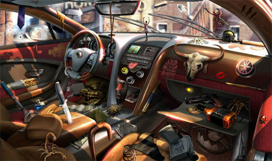 The Messiest Car in the World in Criminal Case