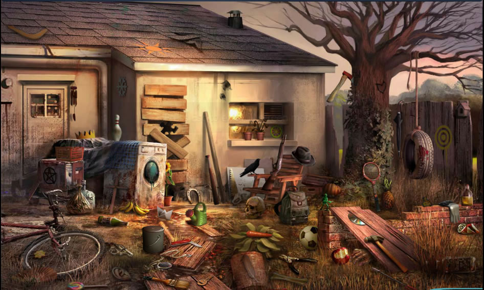 Hidden Object Games Crime Scene Picture Picture Pictures to pin on ...