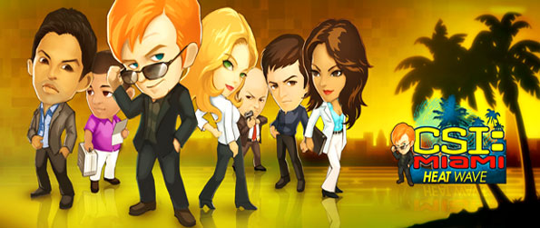 CSI Miami Heat Wave - Join the CSI Team as you solve cases in this much loved TV Show Facebook Game.