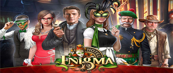 Hotel Enigma - Welcome to a fantastic new Hidden Object Game, can you solve the riddle of Hotel Enigma?