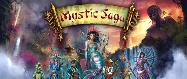 Mystic Saga - Enjoy beautifully rich hidden object scenes as you explore a magical version of the orient.