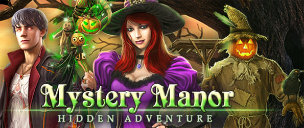 Mystery Manor: Hidden Adventure - Enjoy a stunning hidden object game set in a wonderful manor.