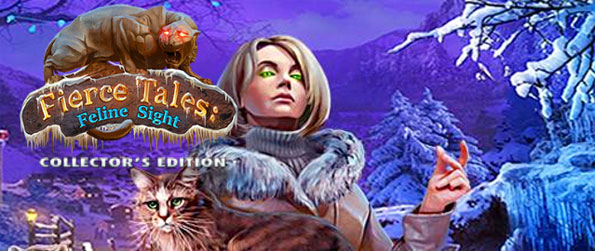 Fierce Tales: Feline Sight - Explore the mystery of suddenly aggressive cats in this stunning new hidden object game.