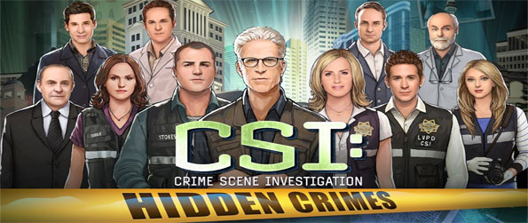 CSI Hidden Crimes - Become an investigator with CSI and solve crimes in a stunning Facebook Game.