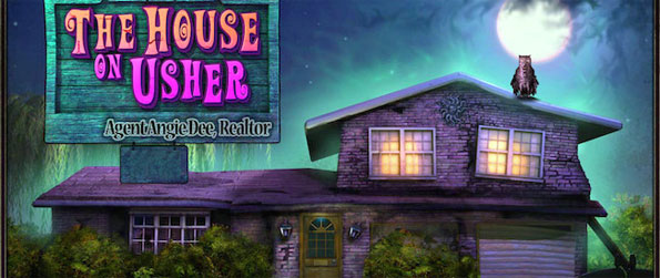 The House on Usher - Solve the Mystery of a Spooky House Before you Try to Sell it in a Funny New Hidden Object Game.