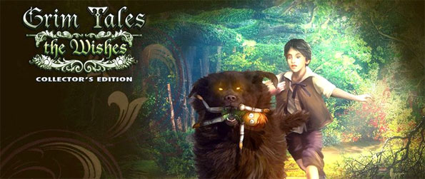 Grim Tales: The Wishes - Immerse yourself in a hidden object experience that's shrouded in mystery and full of suspense.