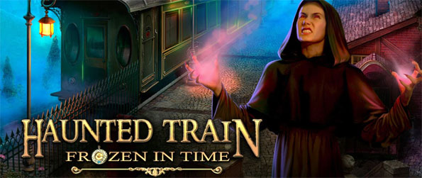 Haunted Train: Frozen in Time - The Cronometers have been stolen, and the very world is at stake as you try to rescue your husband and stop a crazy plot.