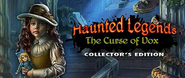 Haunted Legends: The Curse of the Vox - Unravel the mysteries surrounding the Filler Mansion as you scour for clues through this hidden object adventure.