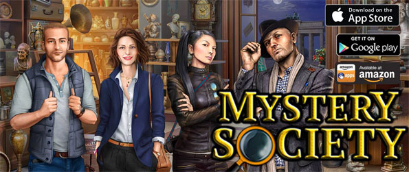 Hidden Objects: Mystery Society - Investigate fun and highly detailed crime scenes in this classic hidden object experience.