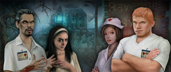 Ravenhill Asylum - Walk into a dark world full of intrigue and mystery in this amazing Hidden Object Game.