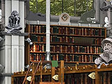 Adventure Chronicles: The Search for Lost Treasures Library Scene