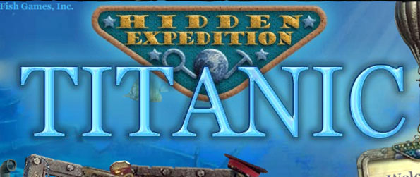 Hidden Expedition Titanic - Find the Queen's Crown amongst the ruins of the colossal ship, Titanic.